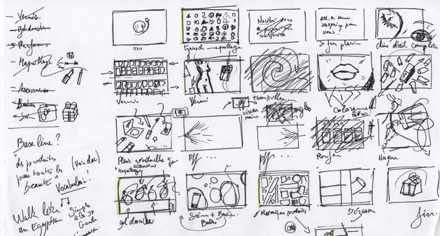 storyboard_nocibe_rough